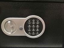 Combination lock safe stock photos