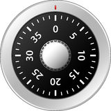 Combination Lock (Steel) Stock Images