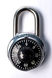 Combination lock Royalty Free Stock Photo