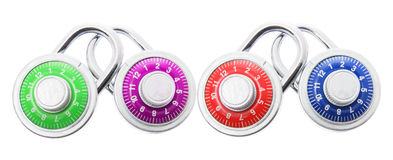 Combination Locks Stock Images