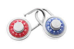 Combination Locks Royalty Free Stock Images