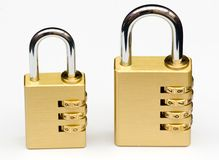 Combination locks Royalty Free Stock Image