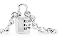 Combination padlock Royalty Free Stock Photo