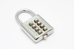 Combination padlock Stock Photo