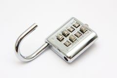 Combination padlock Royalty Free Stock Image