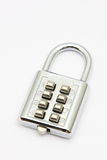 Combination padlock Royalty Free Stock Photos
