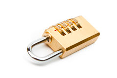 Combination padlock Royalty Free Stock Photography