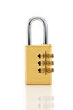 Combination Padlock Royalty Free Stock Images