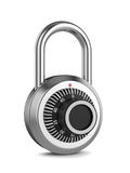 Combination padlock Royalty Free Stock Photo