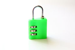 Combination Padlock, isolated Stock Images