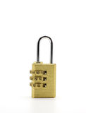 Combination padlock Royalty Free Stock Image
