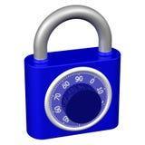 Combination padlock Royalty Free Stock Photography