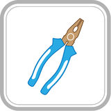 Combination pliers Royalty Free Stock Photography