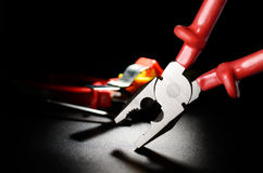 Combination Pliers Stock Photography