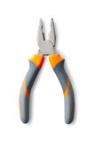 Combination Pliers on White Background Royalty Free Stock Image