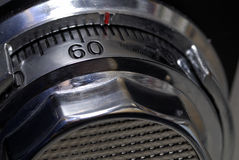 Combination Safe. Close up of the dial on a safe Royalty Free Stock Images