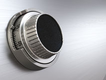 Combination safe dial lock. Concept of banking.  Closeup backgro. Und. 3d Royalty Free Stock Photos