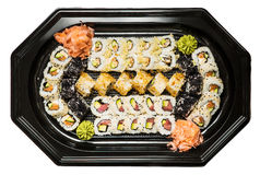 Combination of sushi Royalty Free Stock Photos