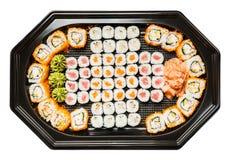 Combination of sushi Royalty Free Stock Image