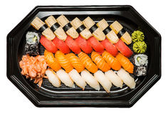 Combination of sushi Royalty Free Stock Images