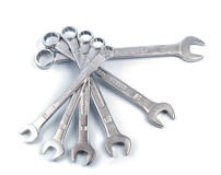 Combination wrenches Stock Images