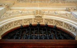 Combinazione degli elementi differenti della costruzione per creare un'entrata dello splendore Immagine Stock