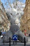 Combinazione divertente della statua Fotografia Stock Libera da Diritti
