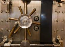 Combinazione massiccia d'annata enorme della maniglia della volta della Banca di Inenetrable Immagine Stock Libera da Diritti