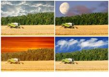 combine fotografie stock