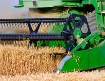 Combine harvest Royalty Free Stock Photography