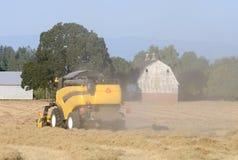Combine Harvest Stock Photos