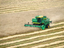 Combine Harvester. Agriculture Combine royalty free stock photography