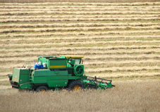 Combine Harvester. Agriculture Combine royalty free stock photos