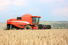 A combine harvester Royalty Free Stock Images