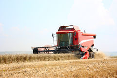 A combine harvester Royalty Free Stock Photography