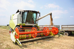 A combine harvester Stock Photography