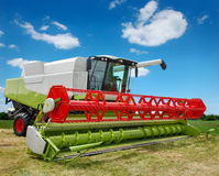 Free Combine Harvester Royalty Free Stock Image - 16411696