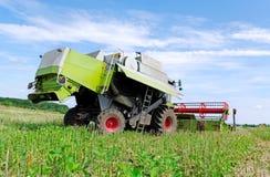 Combine harvester. Stock Photos