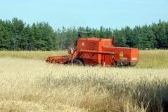 Free Combine Harvester Royalty Free Stock Photo - 3054665
