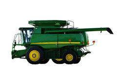 Combine harvester.  Agricultural machine. Stock Image