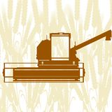 Combine Harvester-3 Royalty Free Stock Photos