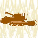Combine Harvester-2 Stock Images
