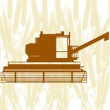 Combine Harvester-6 Royalty Free Stock Images