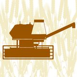 Combine Harvester Stock Image