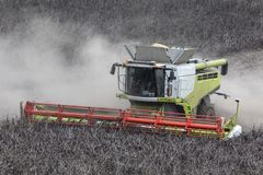 Combine Harvester - Agriculture Royalty Free Stock Photography