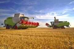 Combine harvester Royalty Free Stock Photo