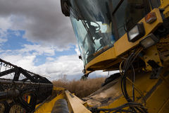 Combine Harvester Cab Stock Photos