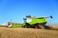 Combine harvester Cereal crop Stock Photos
