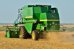 Combine harvester details Royalty Free Stock Images