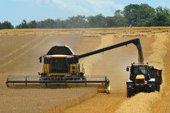 Combine harvester Stock Photo